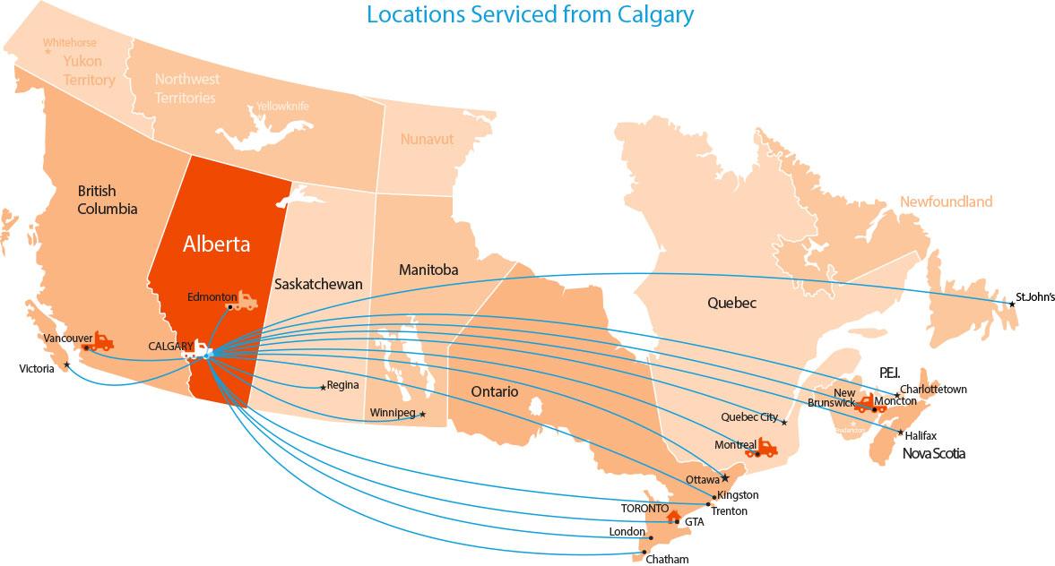 Location-Map-Calgary-Service