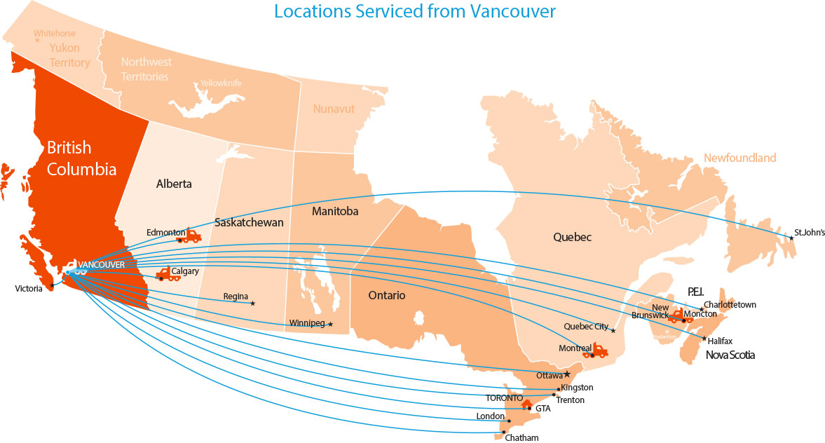 Location-Map-Vancouver-Service