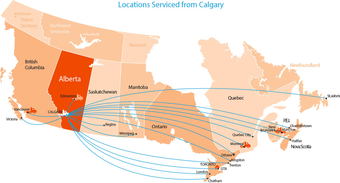 Location-Map-Calgary-Service